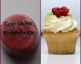 Raspberry Cupcake scented wax fondant