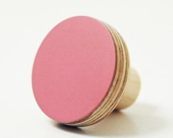 Knobs for drawers - pink color design