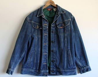 Women's 9/10 Vintage 1980s Ms. Lee Made in USA Denim Jean Jacket