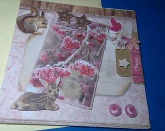 3D 916 hand made greeting card