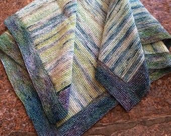 Merino baby blanket