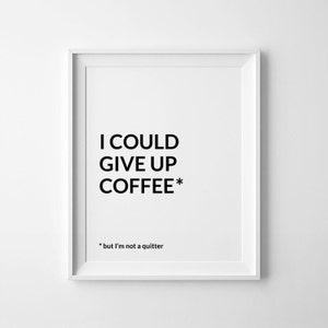 prints for office walls. Coffee Decor, Office Art, Funny Poster, Bar, Printable, Prints For Walls S