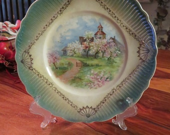 Exquisite Vintage Imperial China Decorative Plate