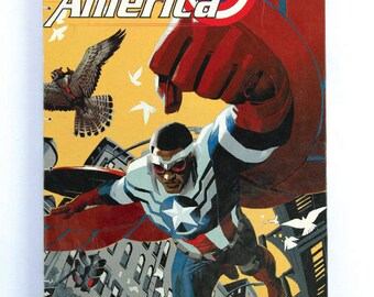 Captain America Journal / Sketchbook