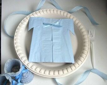 Boy Baby Shower Ideas Napkins, its a boy Party Favors, 20 Decor Blue Decoration 30 40 or 50