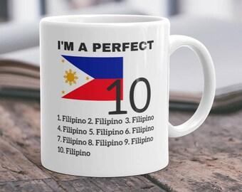 Filipino Mug Filipino Gifts Philippines Mug Filipino Mom Filipino Dad Philippines Gifts Filipino Pride Filipino Coffee Mug Filipino Sister