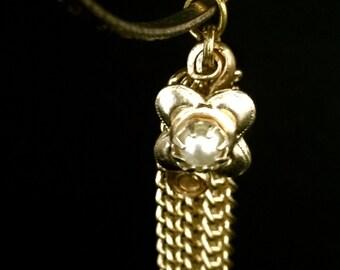 Vintage Tassel Bangle Bracelet      VG2237