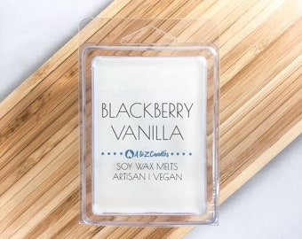 Black Raspberry Vanilla, Blackberry Vanilla Wax Melts, Blackberry Wax Melts, Blackberry Scented, Vanilla Wax Melts, Soy Wax Melts, Wax Tarts