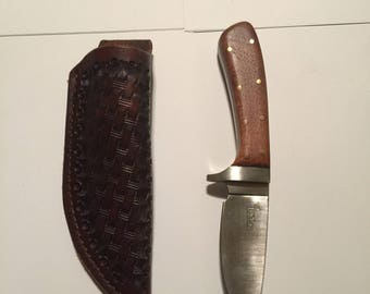 Drop Point Cub with Sheath