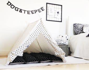 Dog teepee bed (extra large size)