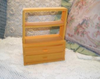 Sunshine Family Craft Store Shelf Or Barbie Doll Shelf, Doll Shelf, Sunshine Craft Store Shelf, Doll Furniture,  :)s*