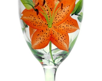 Tigerlilies Goblet