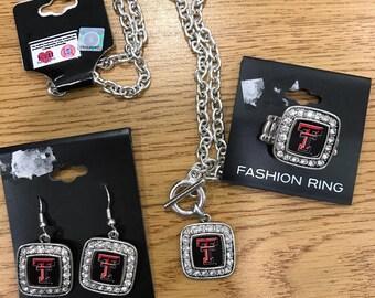 Discontinued Sale Dog Bone Austrian Crystal necklace