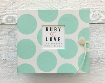 BABY BOOK | Mint Dot Album