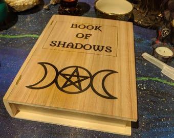 Book of Shadows Storage Box, Book Box