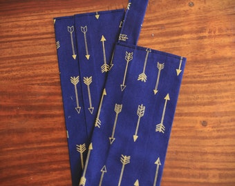 Gold Arrows Stethoscope Cover