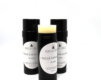 Solid Lotion |  solid lotion bar | Choose your scent | natural lotion | organic lotion bar | lotion stick | body lotion | hand lotion |