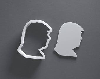 Donald Trump cookie cutter, 3D printed