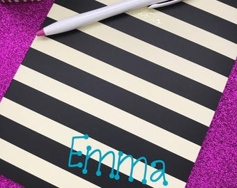 Personalized Journal, Cute Journal