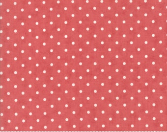 Poetry - Dots in Rose by 3 Sisters for Moda Fabrics