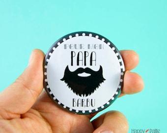 Bottle opener best dad bearded - keychain or magnetic