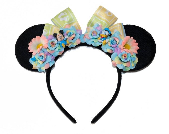 Baby Mickey Donald Mouse Ears Headband