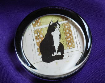 Buffy Robinson Cat Paperweight