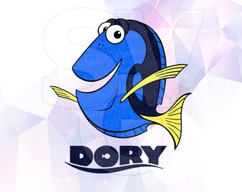 Finding Dory Nemo Layered SVG DXF Png Cut File Disney Cartoon Party Supply Decoration Cricut Design Silhouette Cameo Iron On Transfer Paper