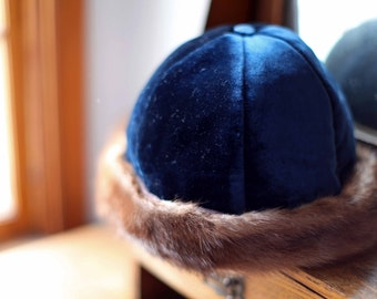 Genuine Mink Fur Women's Hat