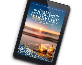 Fireflies—Premade Ebook Cover for Indie Authors Who Are Self-Publishing Fun Romance or Romantic Young Adult Novels about Summer Vacation