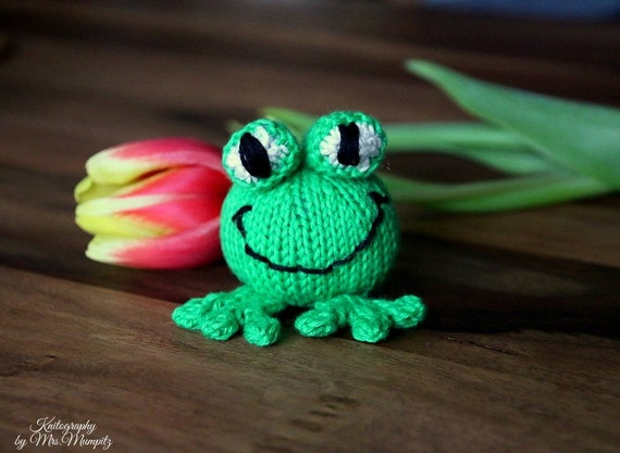 Frog Knitting Pattern For Beginners And Advanced Knitters