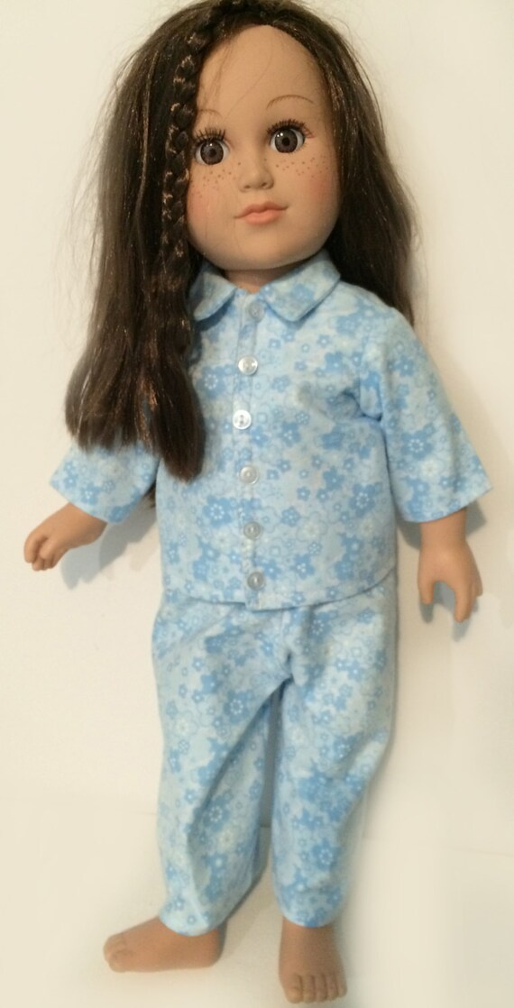 18-inch Doll Pajamas for American Girl and other 18-inch Dolls