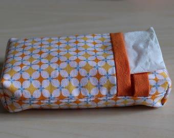 Pocket squares - geometric pattern case