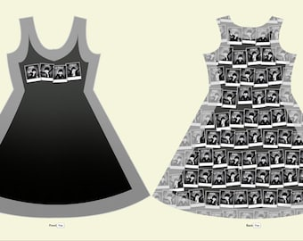 The Beatles Sleeveless Dress