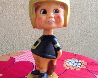 NFL bobble head vintage doll