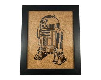 Star Wars R2D2 | Cork Art