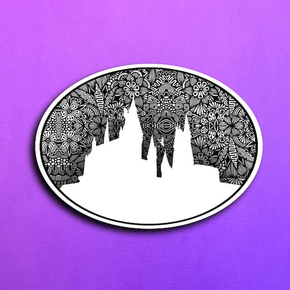 Hogwarts Sticker (WATERPROOF)