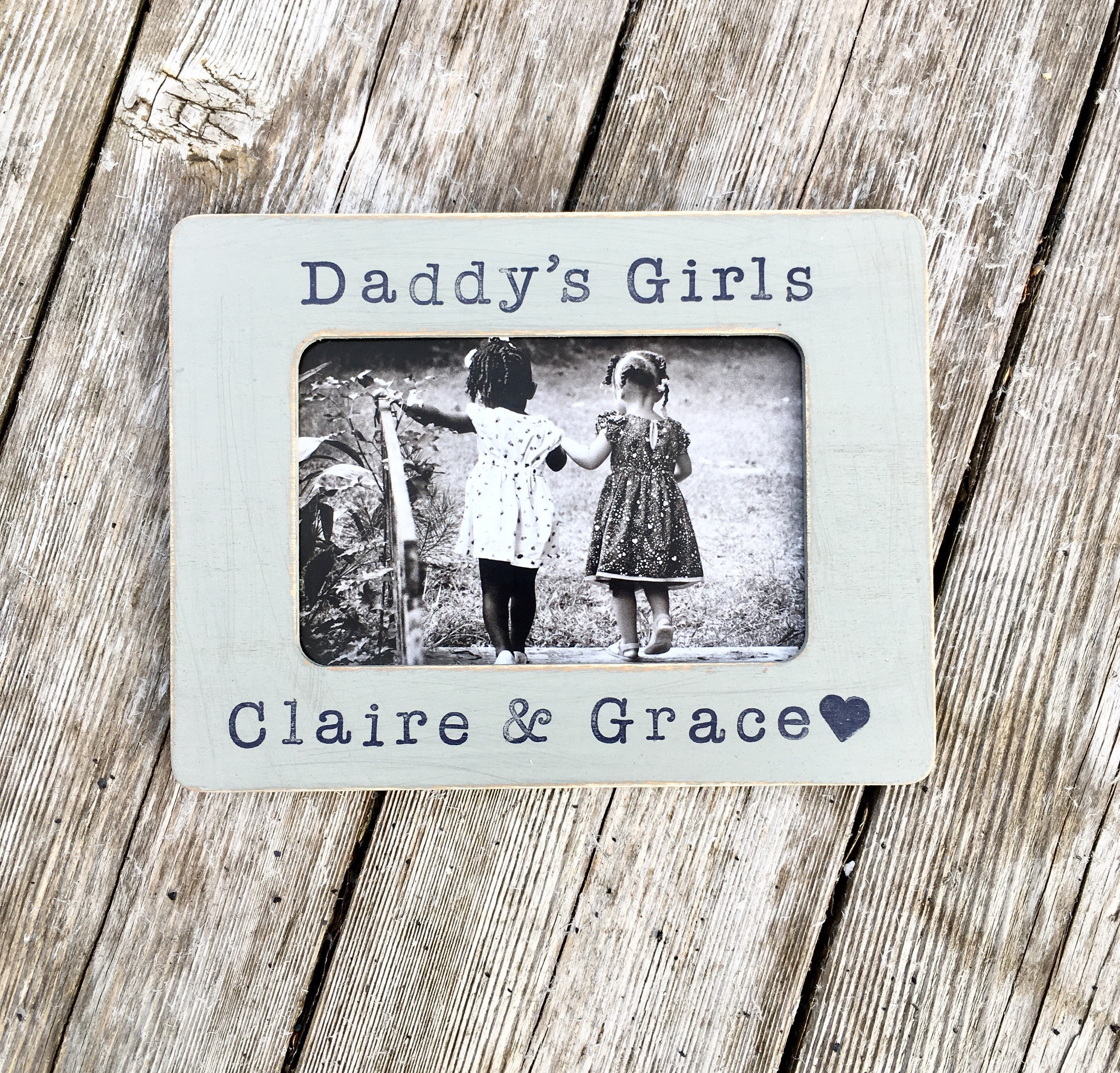 father\'s day frame, fathers day gifys, daddy\'s girls, fathers frame ...