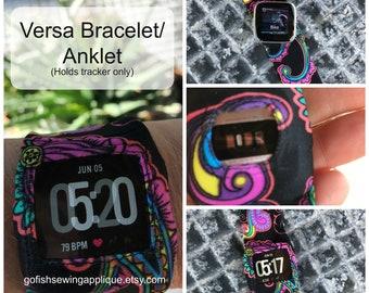 Fitbit VERSA band, Fitbit Versa bracelet, fitbit Versa anklet, Versa sleep band, Fitbit sleep band, Fitbit rash guard, Fitbit Wearable Tech