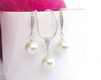 Pearl bridal jewelry Etsy