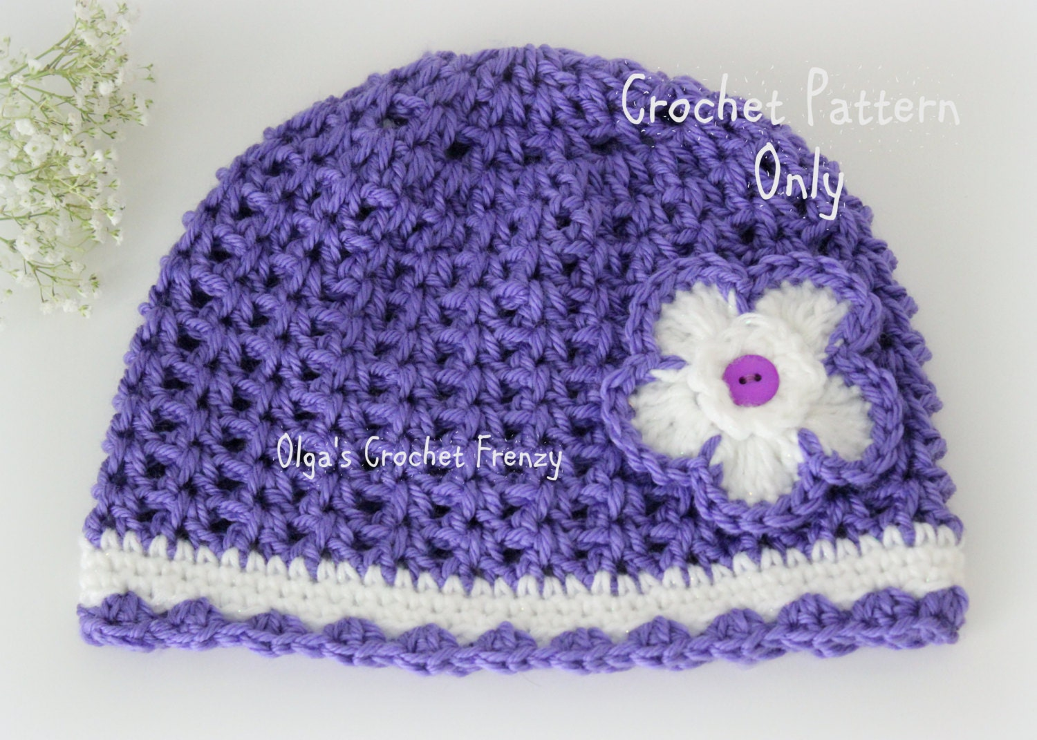 Free Easy Crochet Hat Patterns For Babies