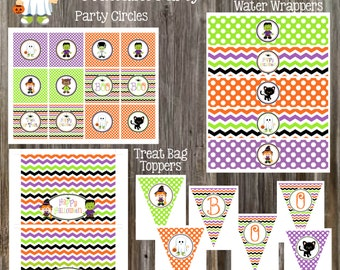 INSTANT DOWNLOAD - Halloween Party Package Printable