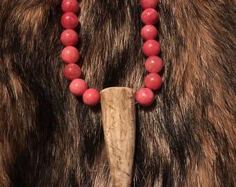 Antler necklace