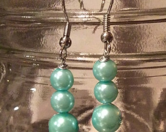 Handmade Droplet Earrings