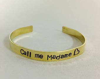 Rush call me Madam