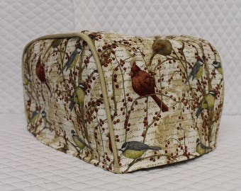 Birds and Berries Toaster Cover