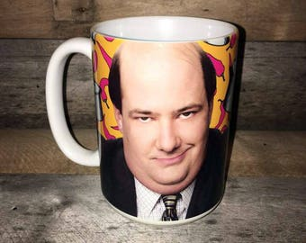 Kevin from the Office MUG the Office tv show gifts Famous Chili Kevin Malone accountant coworker Christmas secret santa gifts Dunder Mifflin