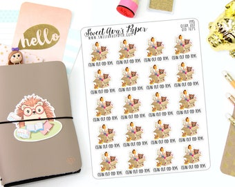 Clean Out Toys Planner Stickers - Toy Planner Stickers - Cleaning Planner Stickers - Donate Planner Stickers - Mom Life Stickers - 1495