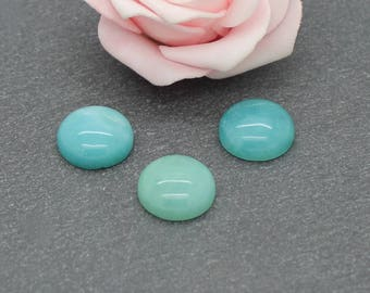 15 mm: CG26 amazonite stone cabochon