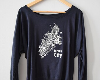 Jersey City slouchy tee